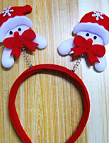 design de artigos de Natal decoração de Natal cabeça de luz hairpin banda é aleatório