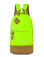 Women Polyester Casual / Office & Career Backpack Blue / Green / Red / Black / Almond