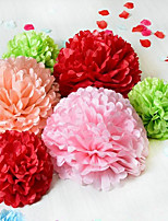 Wedding Party Favors & Gifts-10Piece/Set Unique Wedding Décor Petals Pearl Paper Classic Theme Ball Non-personalised Multi Color