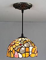 25W מנורות תלויות ,  Tiffany / וינטאג' צביעה מאפיין for סגנון קטן מתכת חדר שינה / כניסה