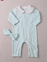 Baby Casual/Daily Solid One-Pieces,Cotton Fall Long Sleeve