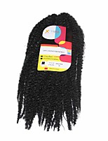Marley Braids  Black #1b Synthetic Hair Crochet Braids 18inch Kanekalon 80g