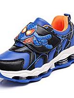 יוניסקס-נעלי ספורט-סוויד / עור-נוחות-כחול / ורוד-שטח / קז'ואל / ספורט-עקב נמוך