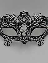 Sophisticated Venetian Laser Cut Filigree Metal Masquerade Ball Mask Crystal Rhinestone3009A1