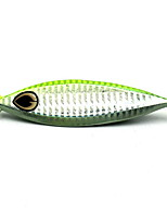 1 pcs Fishing Lures Metal Bait Random Colors 60 g Ounce mm inch,Metal Bait Casting