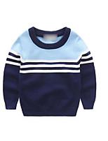 Boy's Casual/Daily Striped Suit & BlazerCotton Spring / Fall Blue / Orange