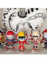 LOL PVC 11cm Anime Action Figures Model Toys Doll Toy 1set