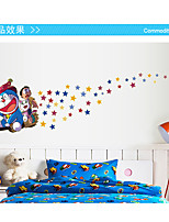 Cartoon Design / Mode / Feiertage Wand-Sticker Flugzeug-Wand Sticker / Leuchtende Wand Sticker Dekorative Wand Sticker,pvc Stoff Abziehbar