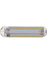 10W R7S Lâmpadas Espiga T 192 SMD 4014 800-900 lm Branco Quente / Branco Frio Decorativa V 1 pç