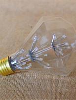3W E26/E27 Ampoules Globe LED G95 49 LED Dip 800 lm Jaune Décorative V 1 pièce