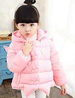 Girl's Casual/Daily Solid Down & Cotton PaddedCotton Winter Pink / Purple / Red