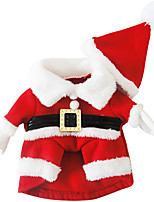 Hunde Kostüme / Smoking Rot Hundekleidung Winter / Frühling/Herbst Amerikaner / USA Klassisch / Weihnachten /