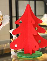 xmas árvores tabela 1pc prenda de Natal decoração da árvore de Natal com o ornamento para