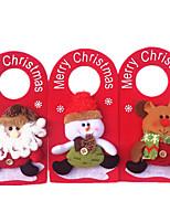 1шт рождественские дверь повесить рождественские украшения добавить рождественские рождественские украшения (стиль случайных)
