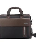 Men PU Casual / Office & Career Laptop Bag Brown