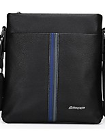 Men Cowhide Casual / Office & Career Shoulder Bag Brown / Black