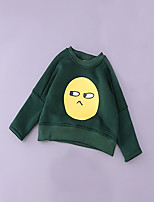 Boy's Casual/Daily Solid Hoodie & SweatshirtCotton Spring / Fall Green / Yellow / Gray