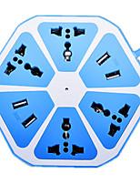 четыре USB многофункциональный фруктов строки плагин (голубой фрукт взвод)