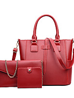 Women PU Formal Casual Event/Party Wedding Office & Career Bag Sets