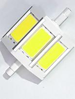 7 R7S LED corn žárovky T cob LED COB 680LM-800LM lm Teplá bílá / Chladná bílá Ozdobné AC 85-265 V 1 ks