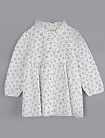 Girl Casual/Daily Print Blouse,Cotton Fall Long Sleeve Regular