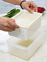 1PC The Environmental Protection The Refrigerator Alimental Preservation Of The Bean Curd Storage Box