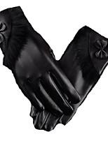 chauds gants tactiles (noir)