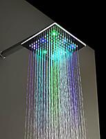 Contemporâneo Chuveiro Tipo Chuva Cromado Característica for  LED / Efeito Chuva , Lavar a cabeça