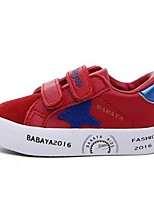 Boy's Sneakers Comfort Fabric Casual Black / Green / Red / White