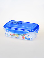 Vacuum Plastic Food Grade Reusable Container with Clip Lock