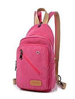 Women Canvas Casual Backpack Blue / Brown / Red / Black