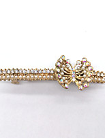 Women Gold Plated / Alloy / Rhinestone / Imitation Pearl Hair Clip,Vintage / Cute / Party / Work / Casual