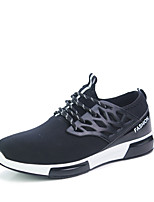 Men's Sneakers Spring / Summer / Fall / Winter Comfort Tulle Athletic / Casual Flat Heel Lace-up Black / Blue / Gray Running