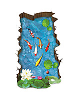 Paisaje Pegatinas de pared Calcomanías 3D para Pared Calcomanías Decorativas de Pared,PVC Material Removible / Puede Cambiar de Ubicación