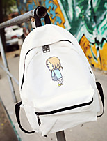 Women Casual Outdoor Backpack Canvas