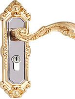Titanium Black Gold Bedroom Lock