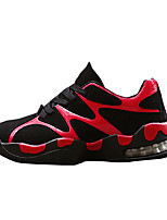 Unisex Sneakers Spring / Fall Comfort PU Casual Flat Heel Black / Red / White / Gray Sneaker