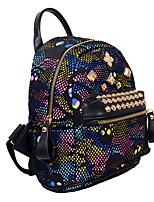 Casual Event/Party Outdoor Shopping Backpack Women PU Multi-color