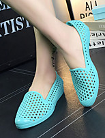 Women's Sandals Summer Comfort PVC Casual Flat Heel Others Black / Blue / Pink / Beige / Coral Others