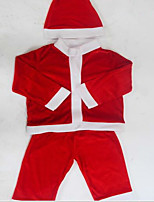 Santa Claus Costume Clothes Children Christmas Costumes Show 100-110Cm