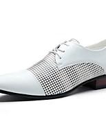 Men's Oxfords Comfort Leatherette Casual Black / White