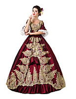Steampunk@Women's Gorgeous Lace Gothic Victorian Fancy Palace Dress