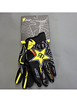 Motocross gloves nontoxic odorless water resistant breathable slip drop resistance