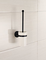 Spiegel poliert Bad-Accessoires aus massivem Messing Material WC-Bürstenhalter Finishing