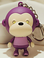 мультфильм милый водить громкоговоритель рот обезьяны брелок