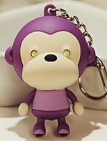 desenhos animados altifalante levou keychain bonito do macaco boca