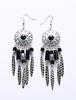 European And American Fashion Disc And Collars Retro Earrings Big Folk Customs Earrings