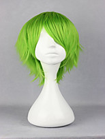 Anime Kidou Senshi Gundam 00 Ribbons Almark 32cm Short Light Green Cosplay  Wig Party Costume Wigs