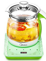 Midea Проводной Others Multi - functional thick glass electric teapot Серый