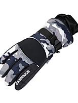 Ski Gloves Men's / Unisex Activity/ Sports Gloves Keep Warm / Waterproof Ski & Snowboard / Snowboarding / Motorbike PU Ski Gloves Winter